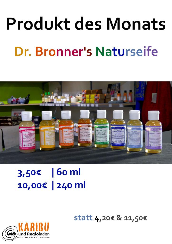 Dr. Bronner's Naturseife